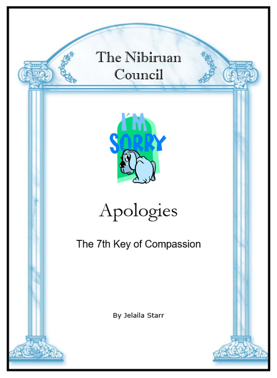 7: Apologies Booklet